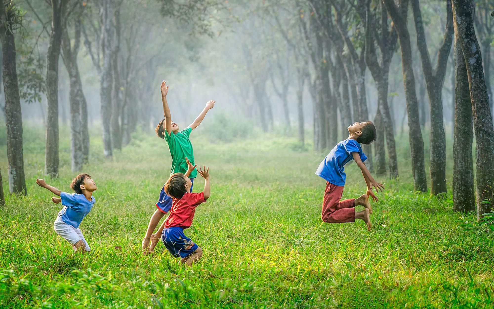 Le Baluchon stages nature pour enfants